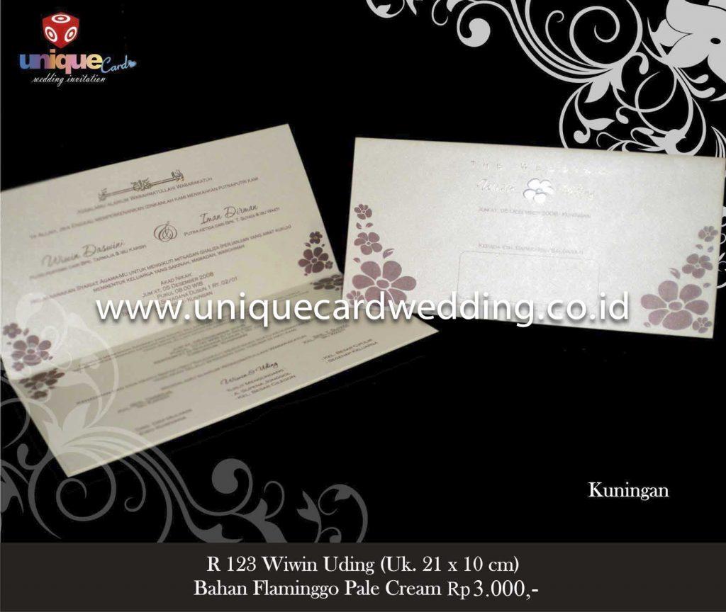 undangan pernikahan#Wiwin Uding