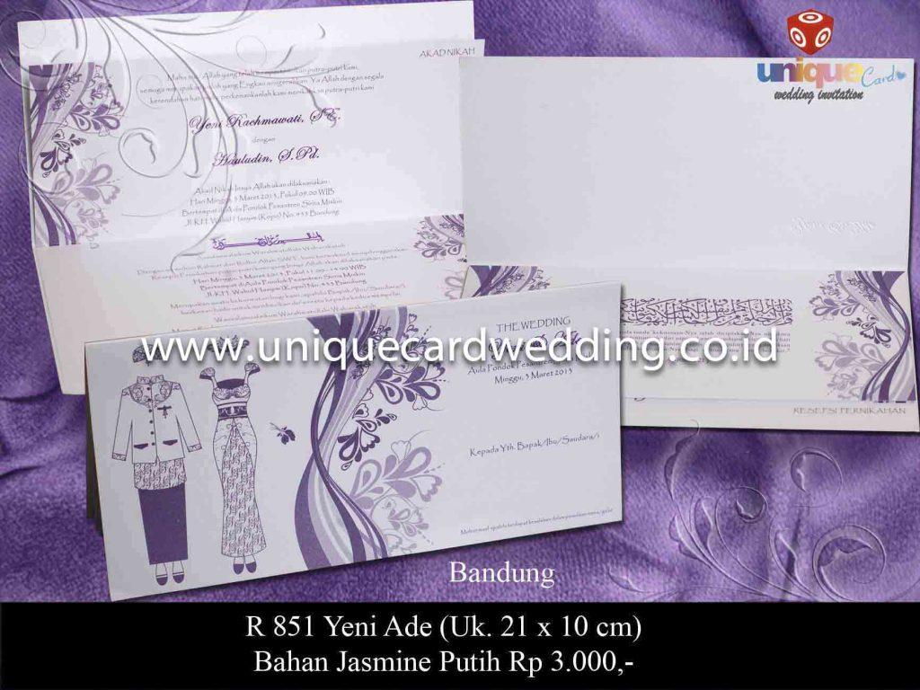undangan pernikahan#Yeni Ade