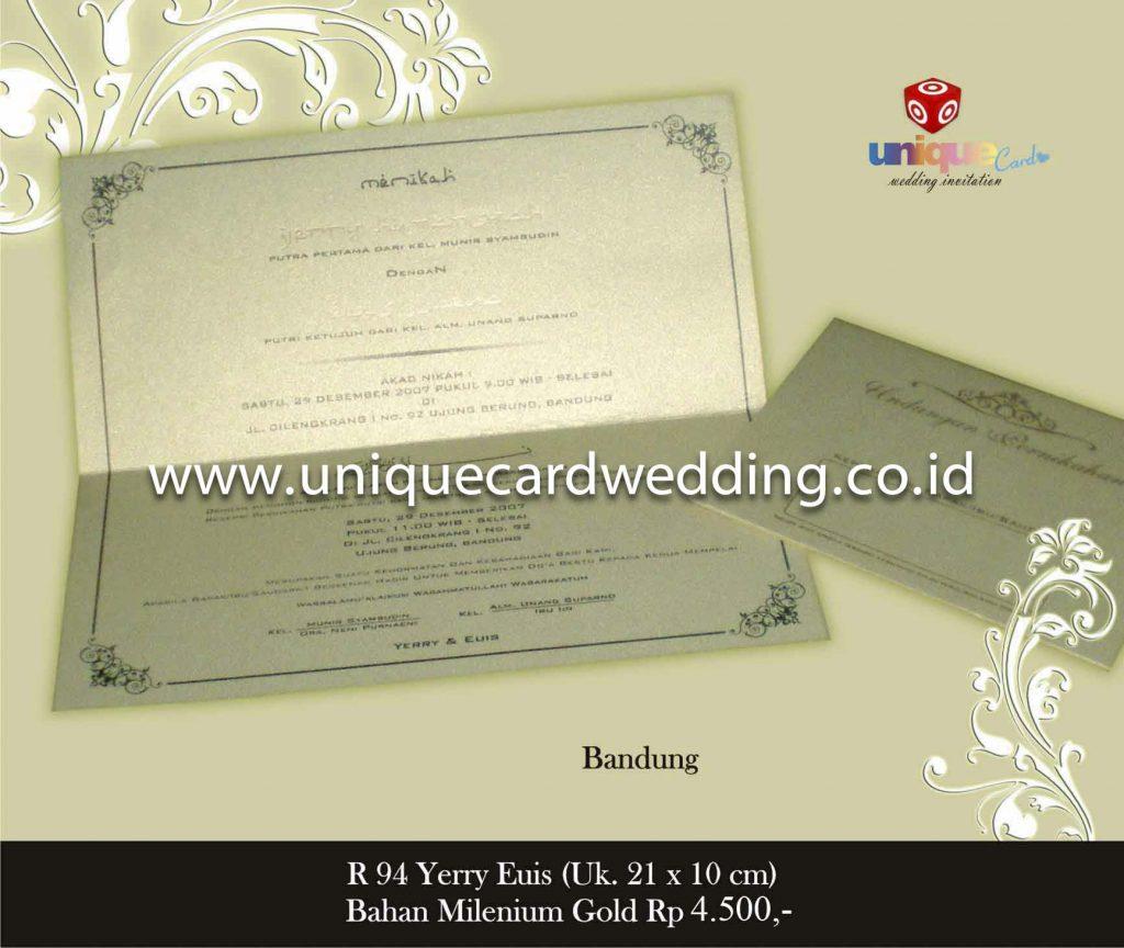 undangan pernikahan#Yerry Euis