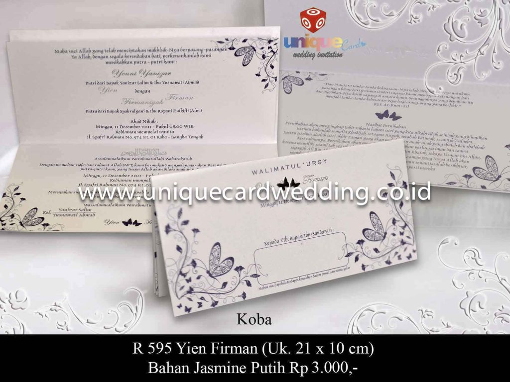 undangan pernikahan#Yien Firman