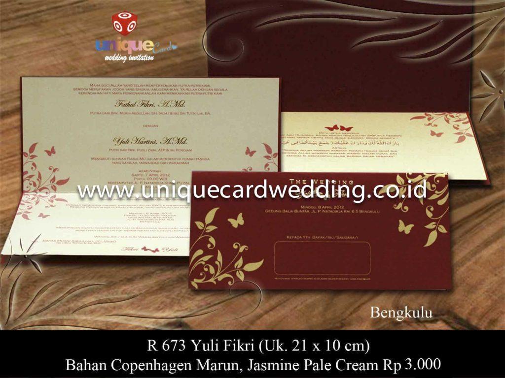 undangan pernikahan#Yuli Fikri