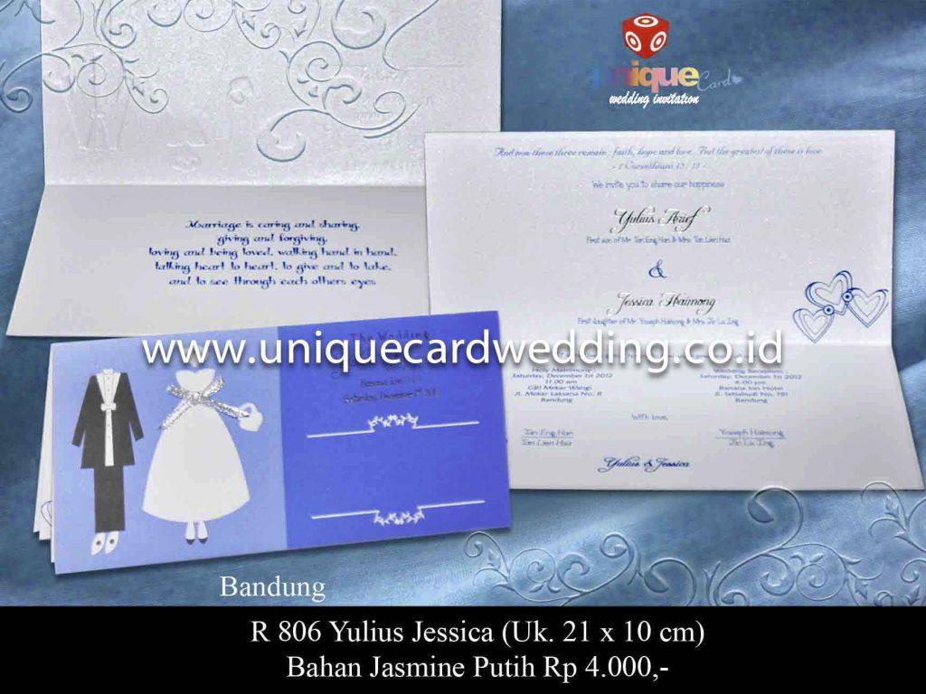 undangan pernikahan#Yulius Jessica