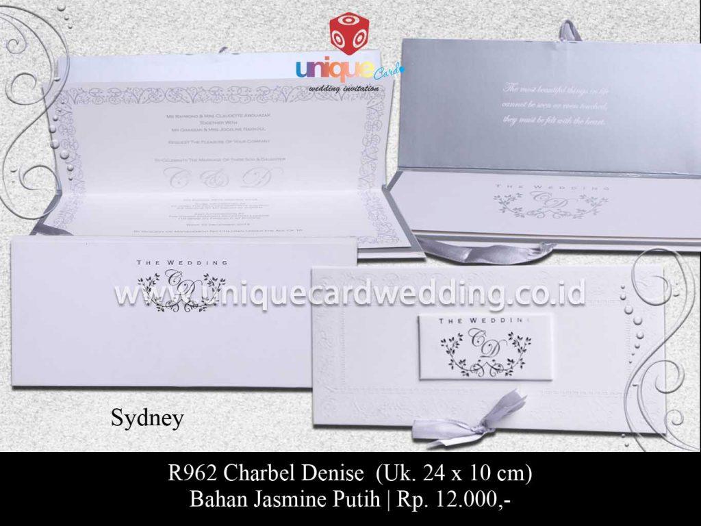 undangan pernikahan-Charbel Denise