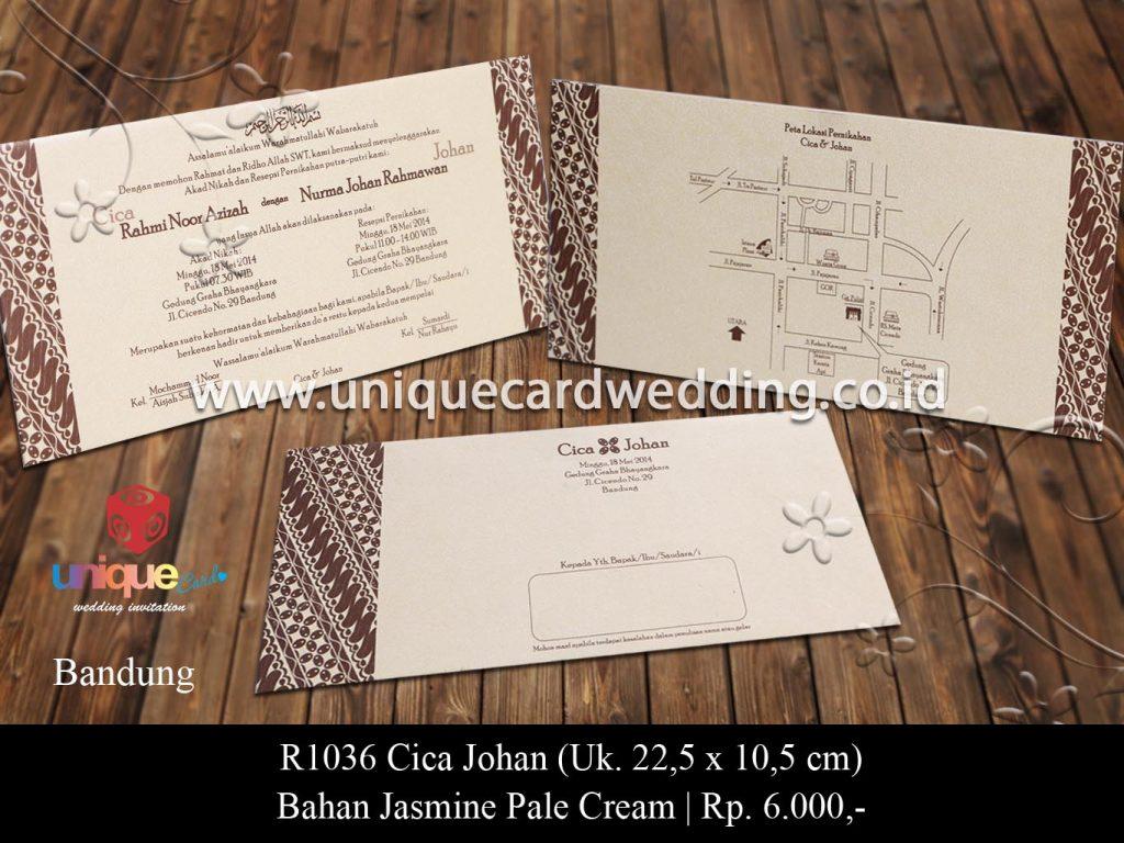 undangan pernikahan-Cica Johan