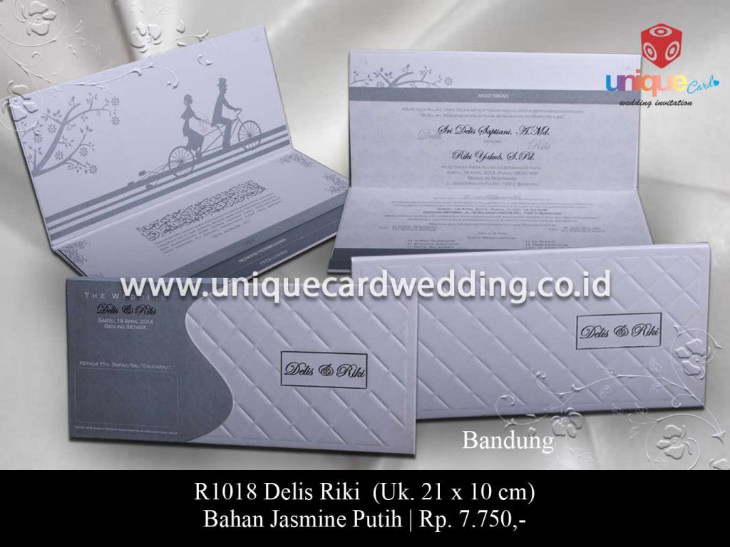 undangan pernikahan-Delis Riki
