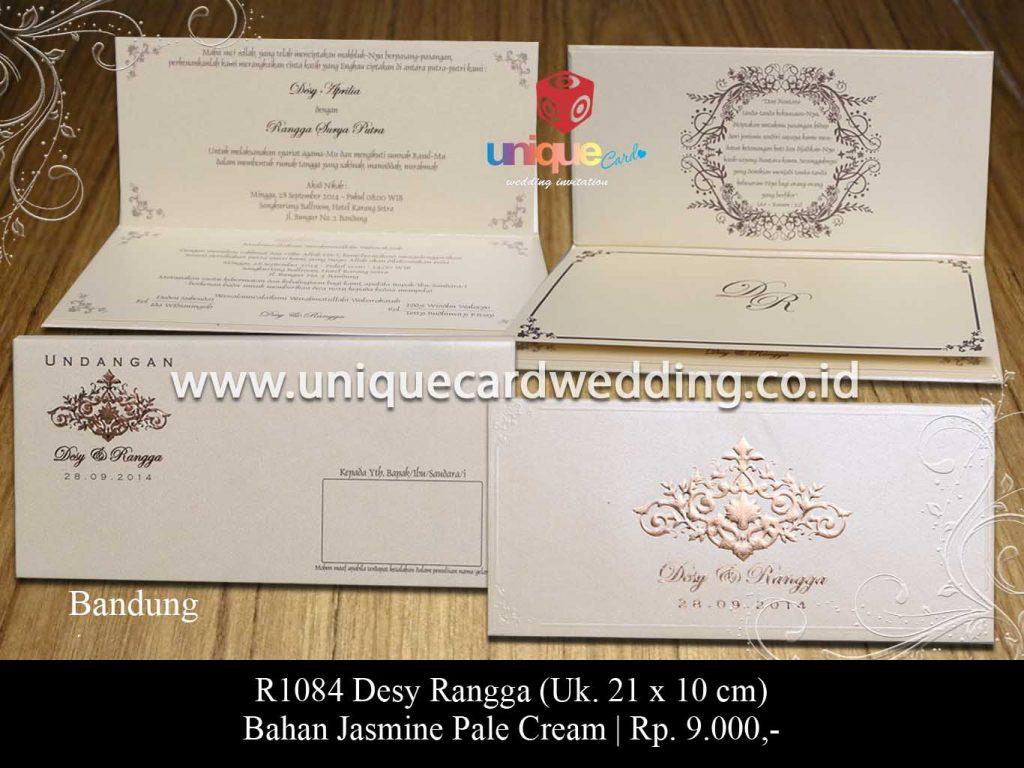 undangan pernikahan-Desy Rangga