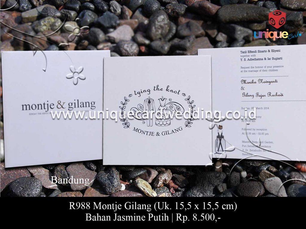 undangan pernikahan-Monte Gilang