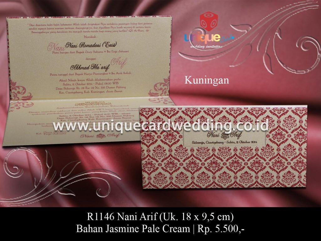 undangan pernikahan-Nani Arif