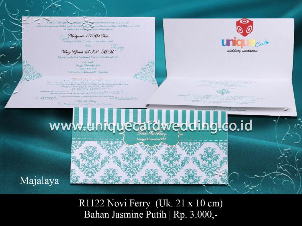 undangan pernikahan-Novi Ferry