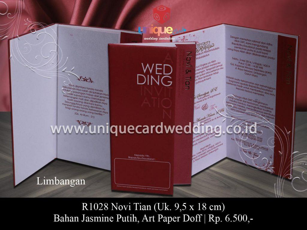 undangan pernikahan-Novi Tian
