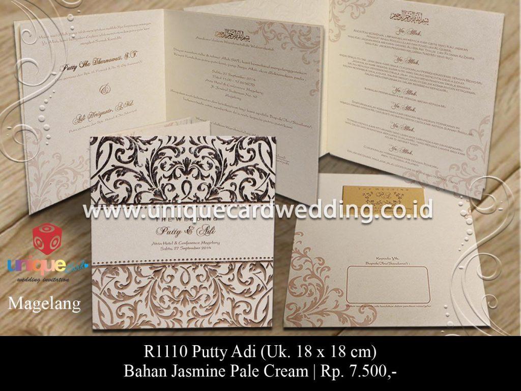 undangan pernikahan-Puty Adi