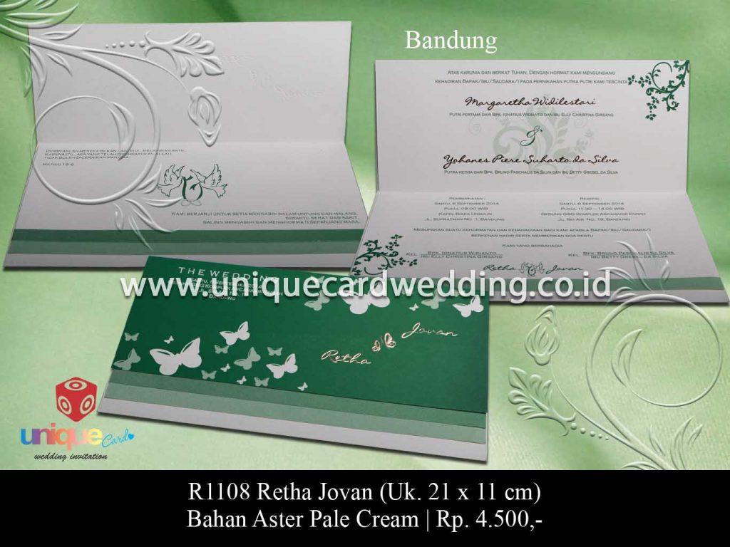 undangan pernikahan-Retha Jovan