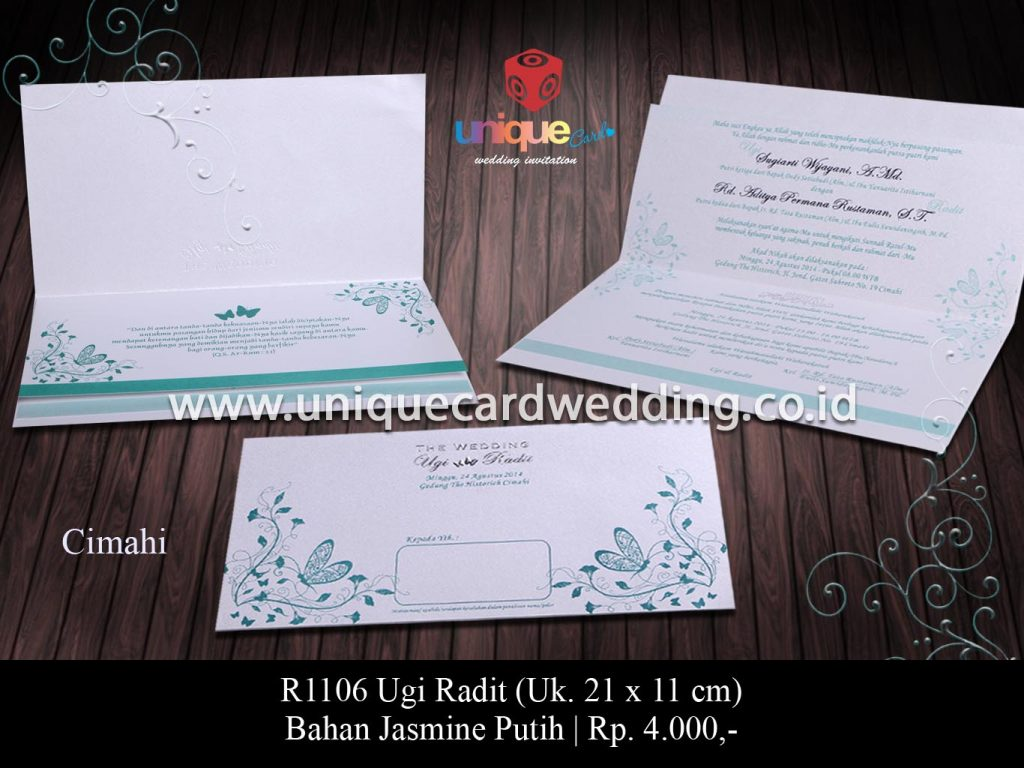 undangan pernikahan-Ugi Radit