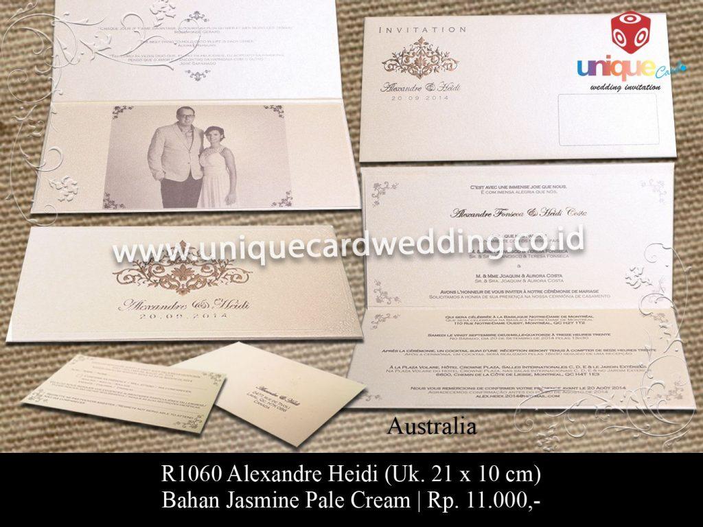 undangan pernikahan-Alexandra Heidi