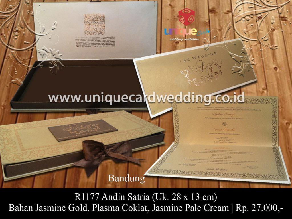 undangan pernikahan-Andin Satria