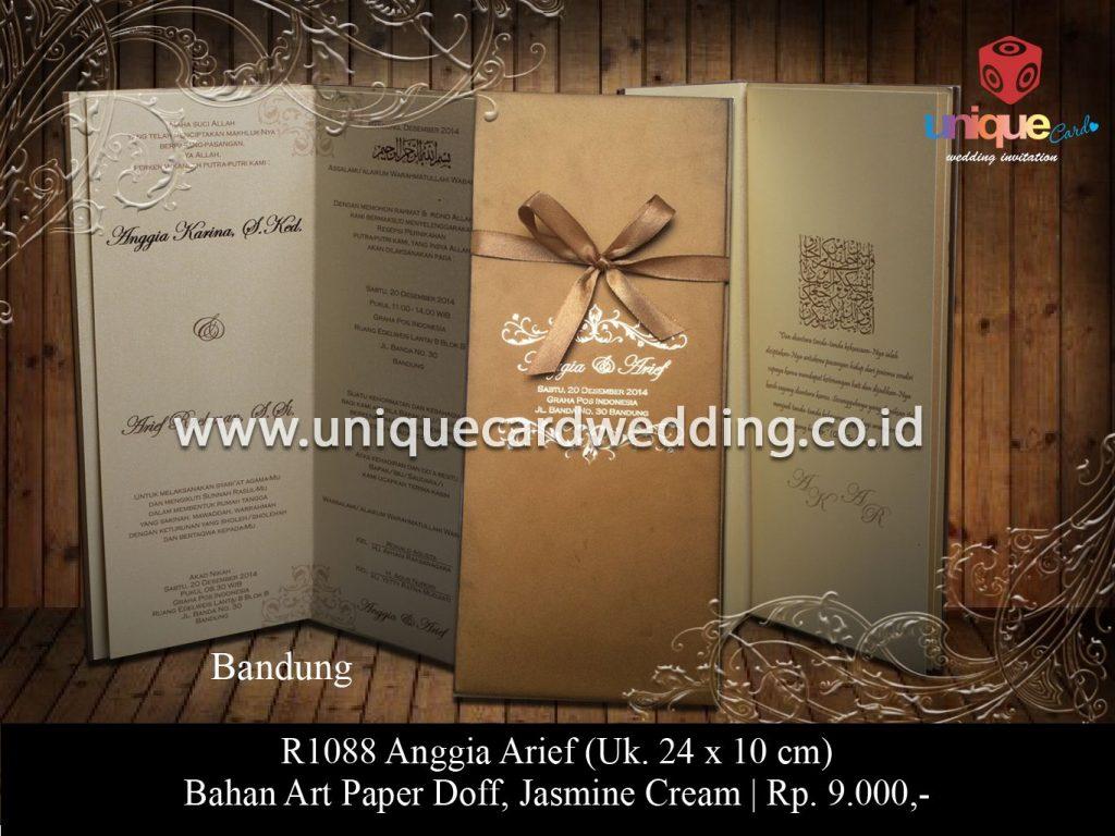 undangan pernikahan-Anggia Arif