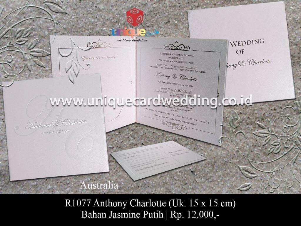 undangan pernikahan-Anthony Charlotte