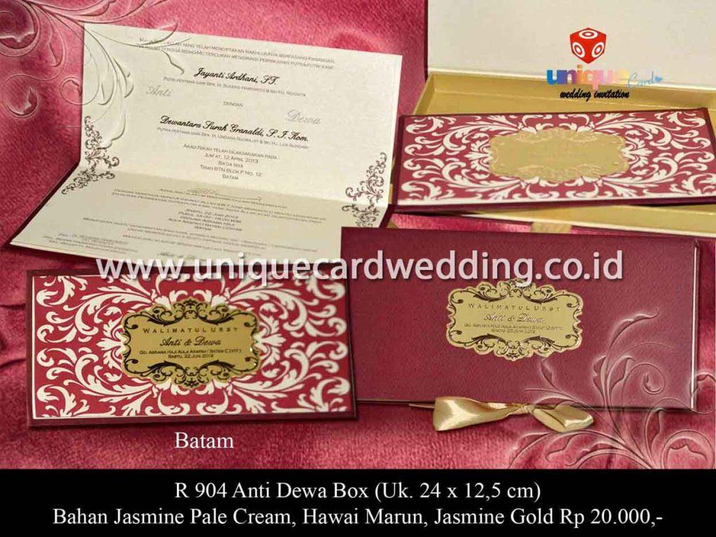 undangan pernikahan-Anti Dewa Box