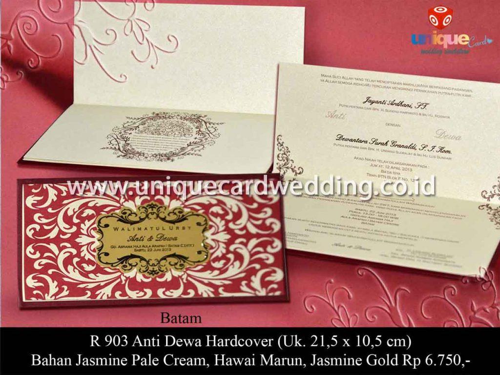 undangan pernikahan-Anti Dewa HC