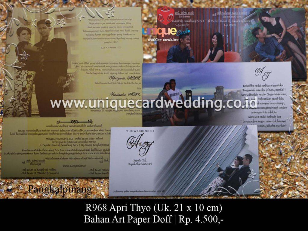 undangan pernikahan-Apri Thyo
