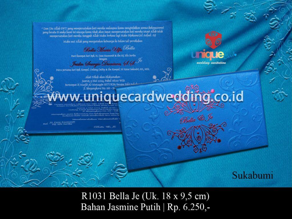 undangan pernikahan-Bella Je