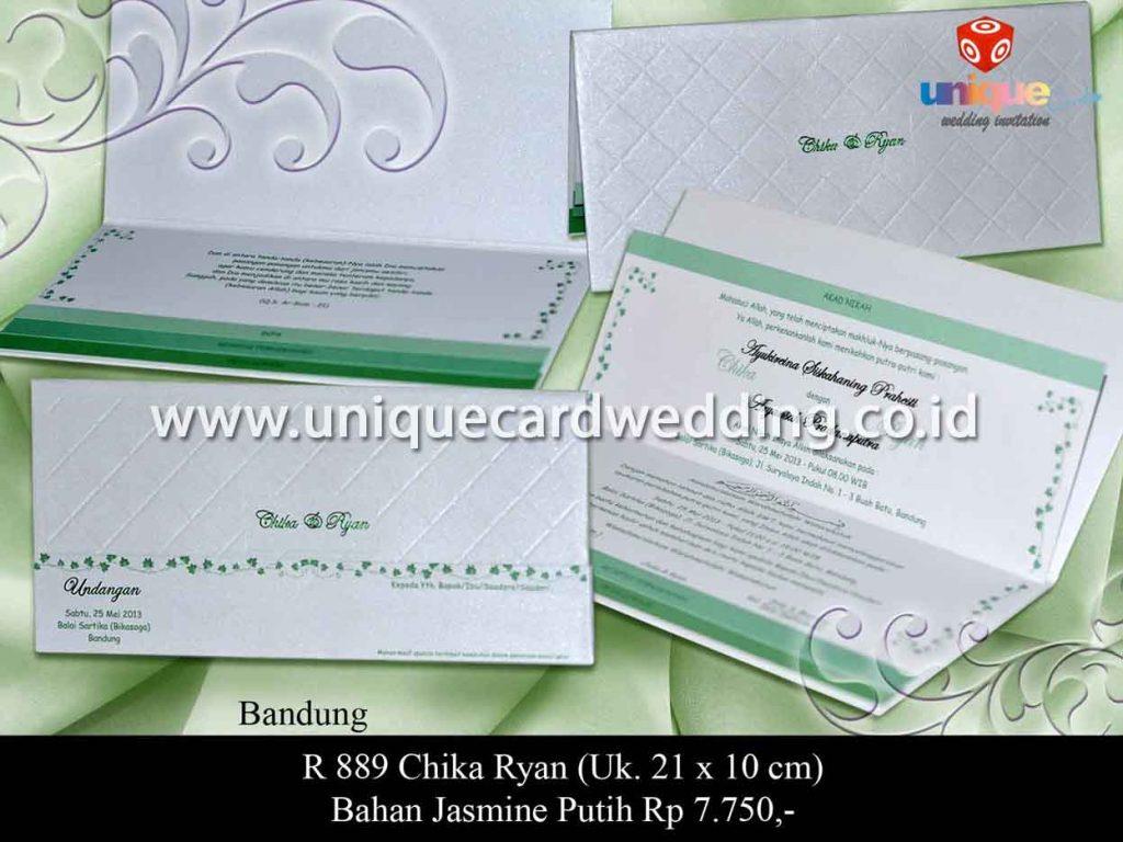 undangan pernikahan-Chika Ryan