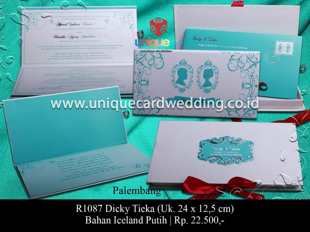 undangan pernikahan-Dicky Tieka