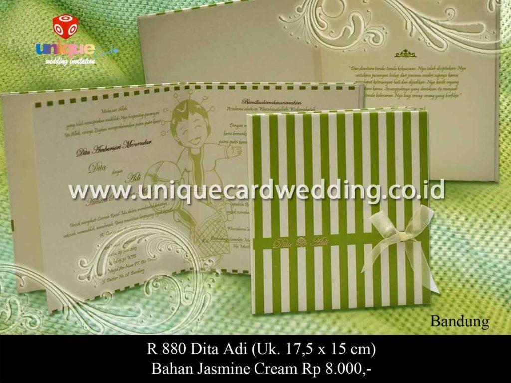 undangan pernikahan-Dita Adi