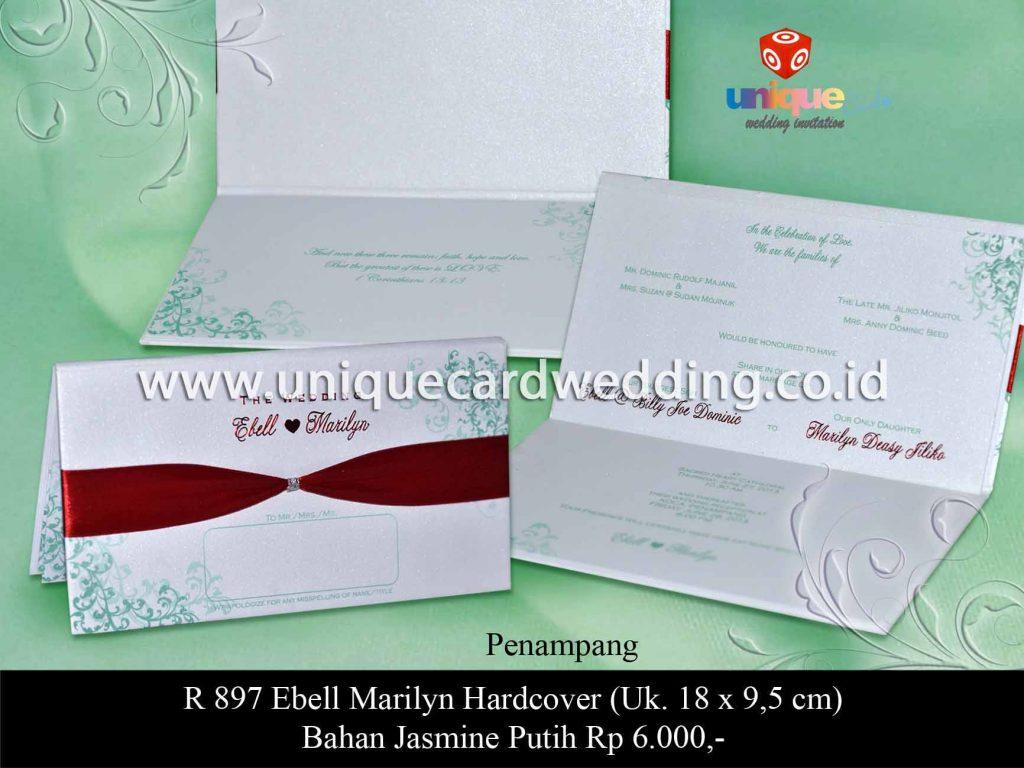 undangan pernikahan-Ebell Marilyn HC