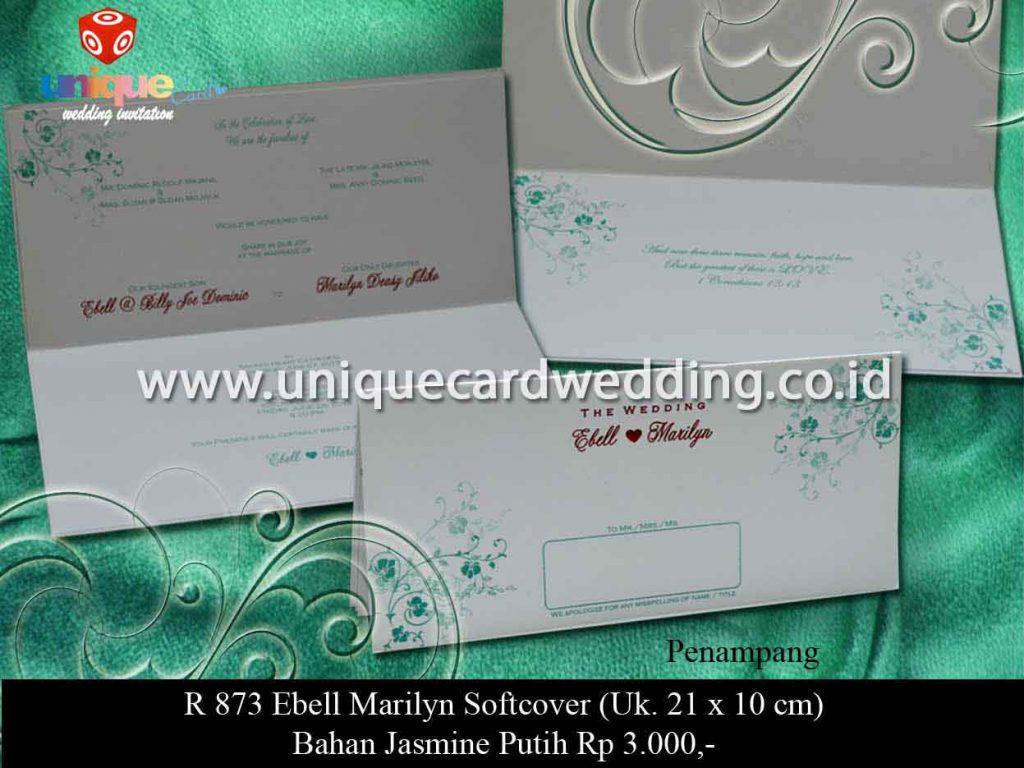 undangan pernikahan-Ebell Marylin SC