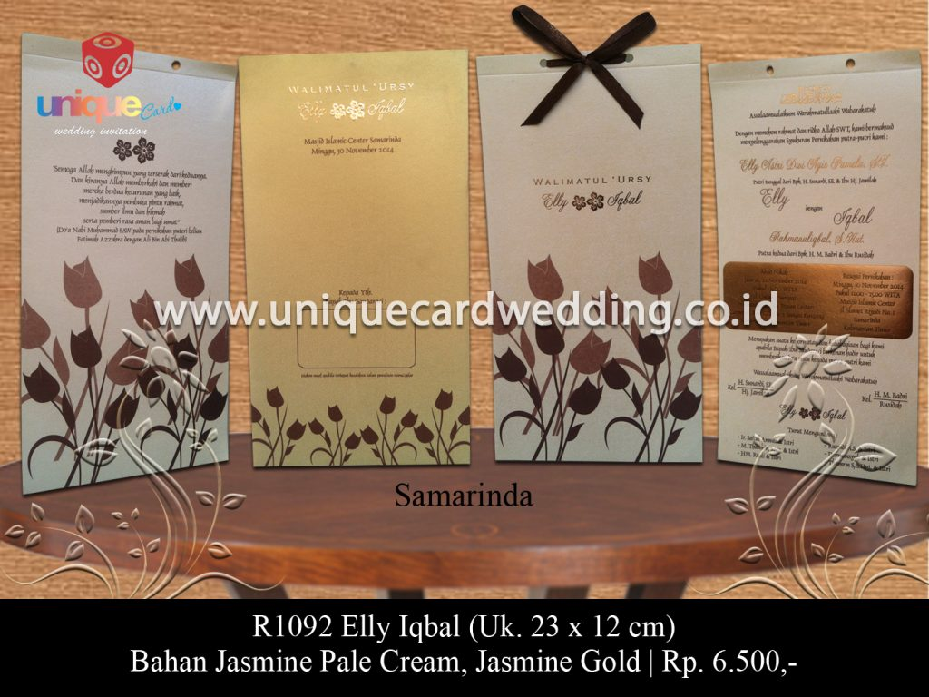 undangan pernikahan-Elly Iqbal