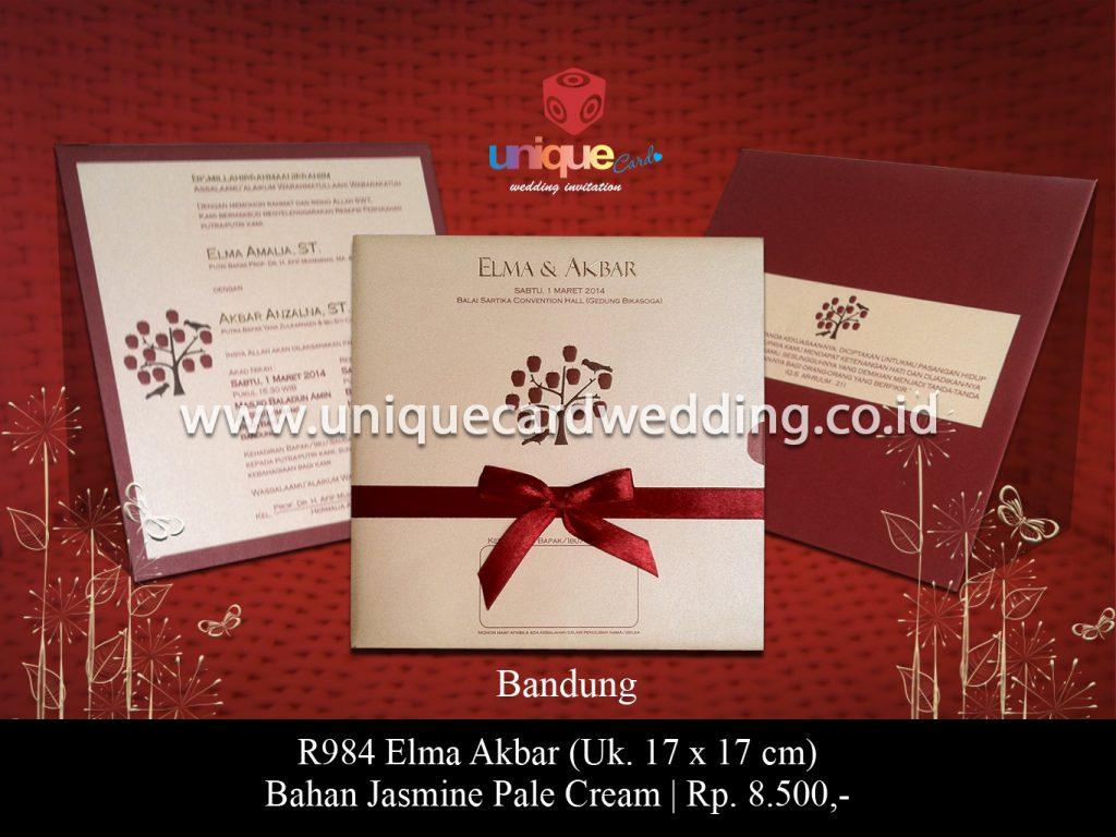 undangan pernikahan-Elma Akbar