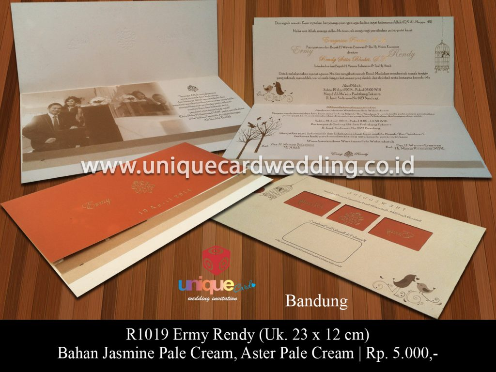 undangan pernikahan-Ermy Rendy