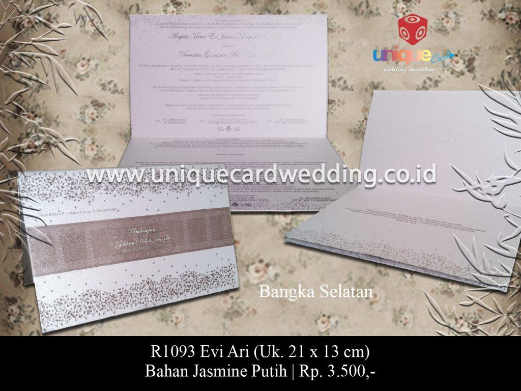 undangan pernikahan-Evi Ari