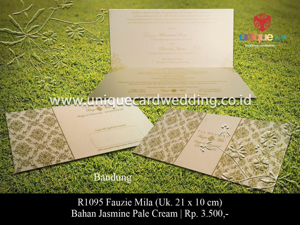 undangan pernikahan-Faujie Mila