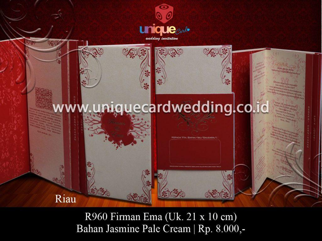 undangan pernikahan-Firman Ema