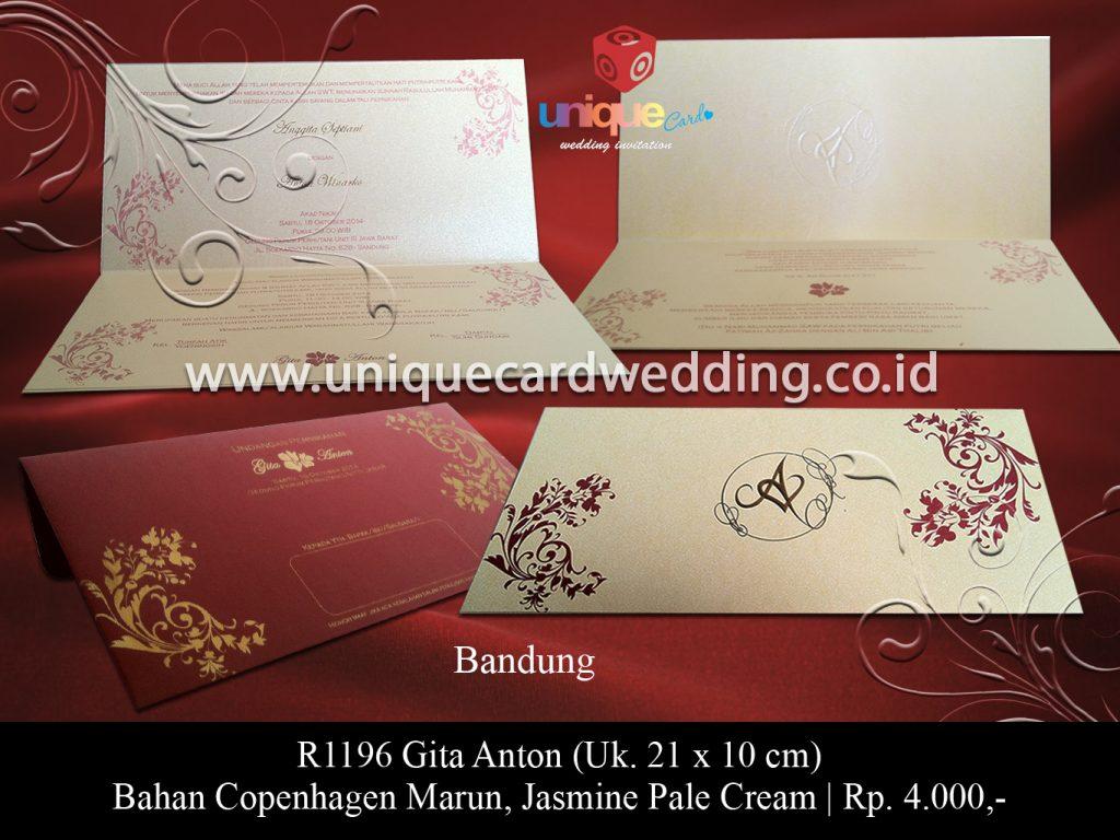 undangan pernikahan-Gita Anton