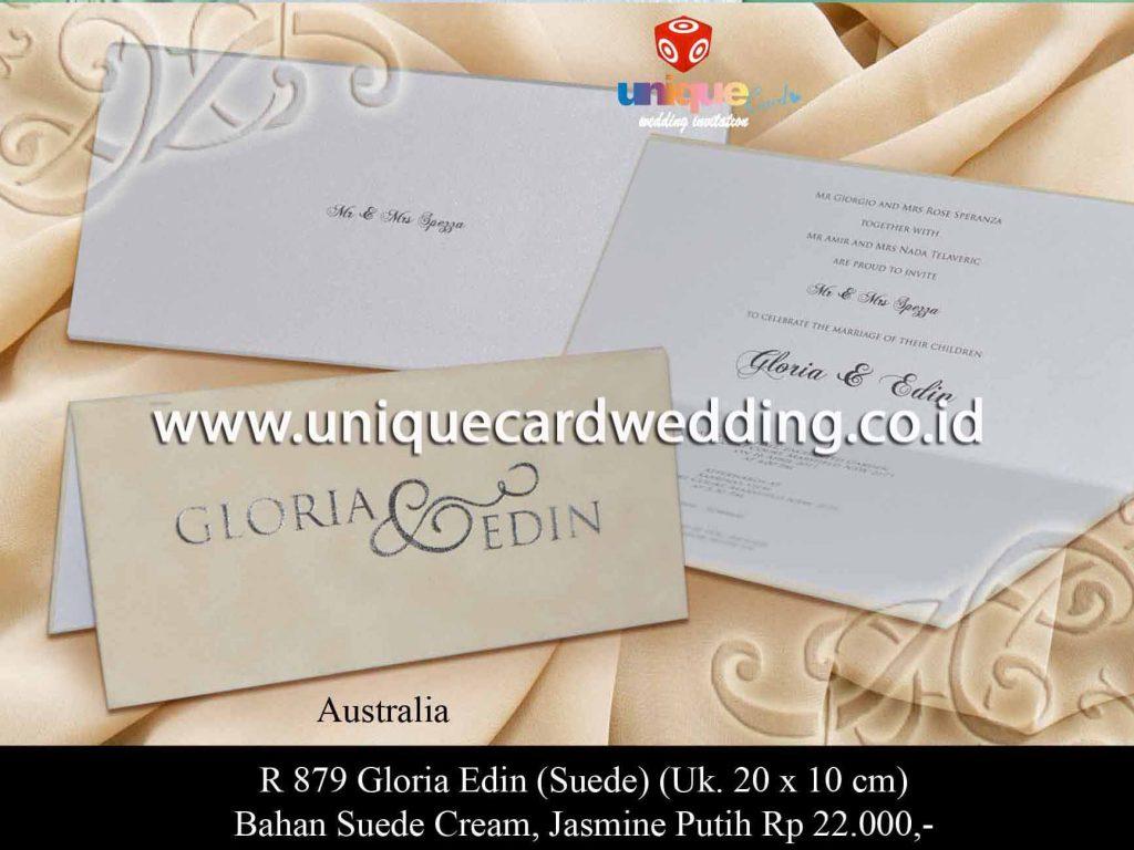 undangan pernikahan-Gloria Eden Suede