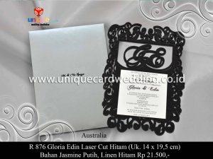 Gloria Edin Laser Cut Hitam