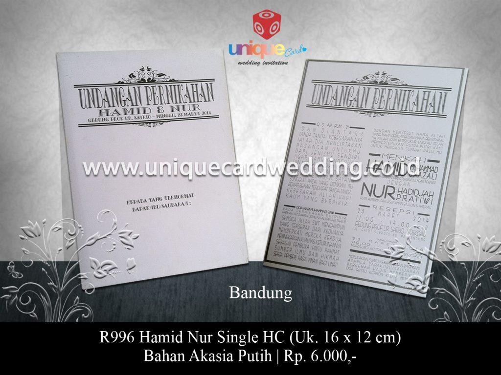 undangan pernikahan-Hamid Nur