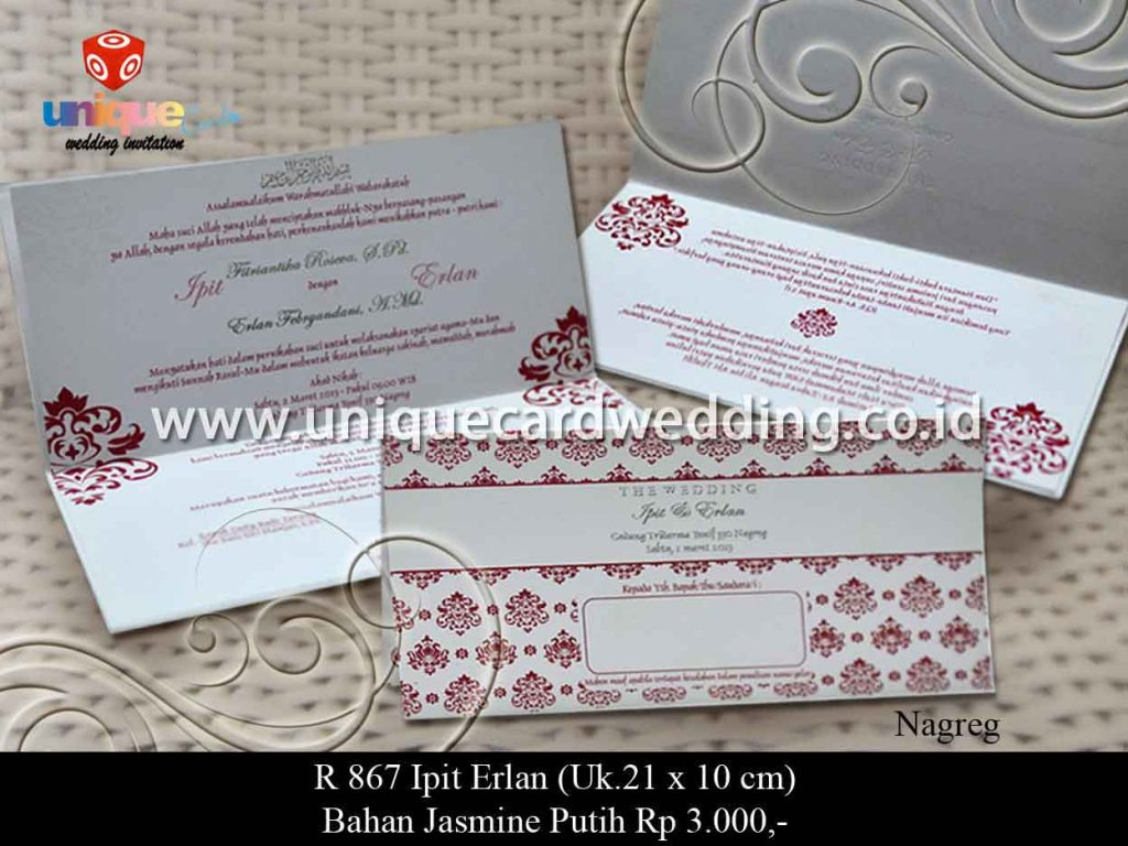 undangan pernikahan-Ipit Erlan