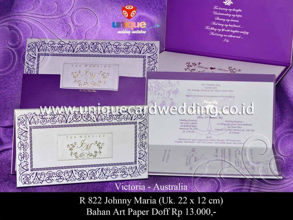 undangan pernikahan-Jhonny Maria