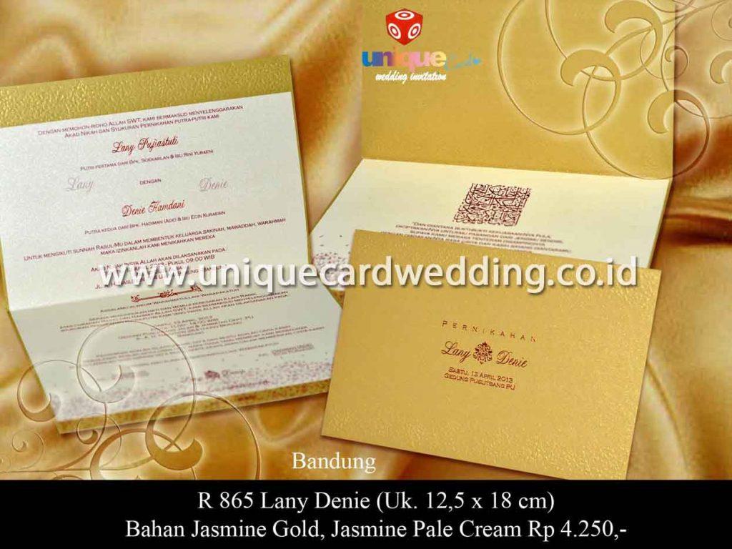 undangan pernikahan-Lany Denie