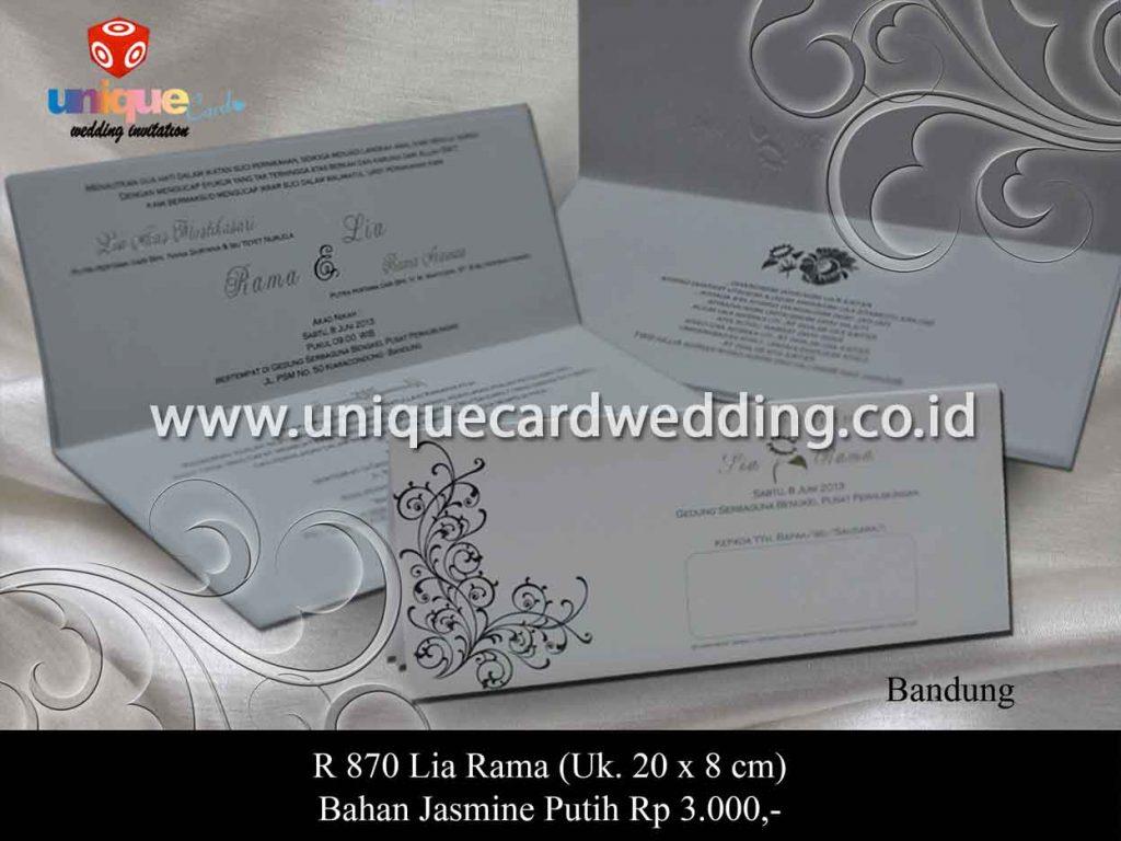 undangan pernikahan-Lia Rama