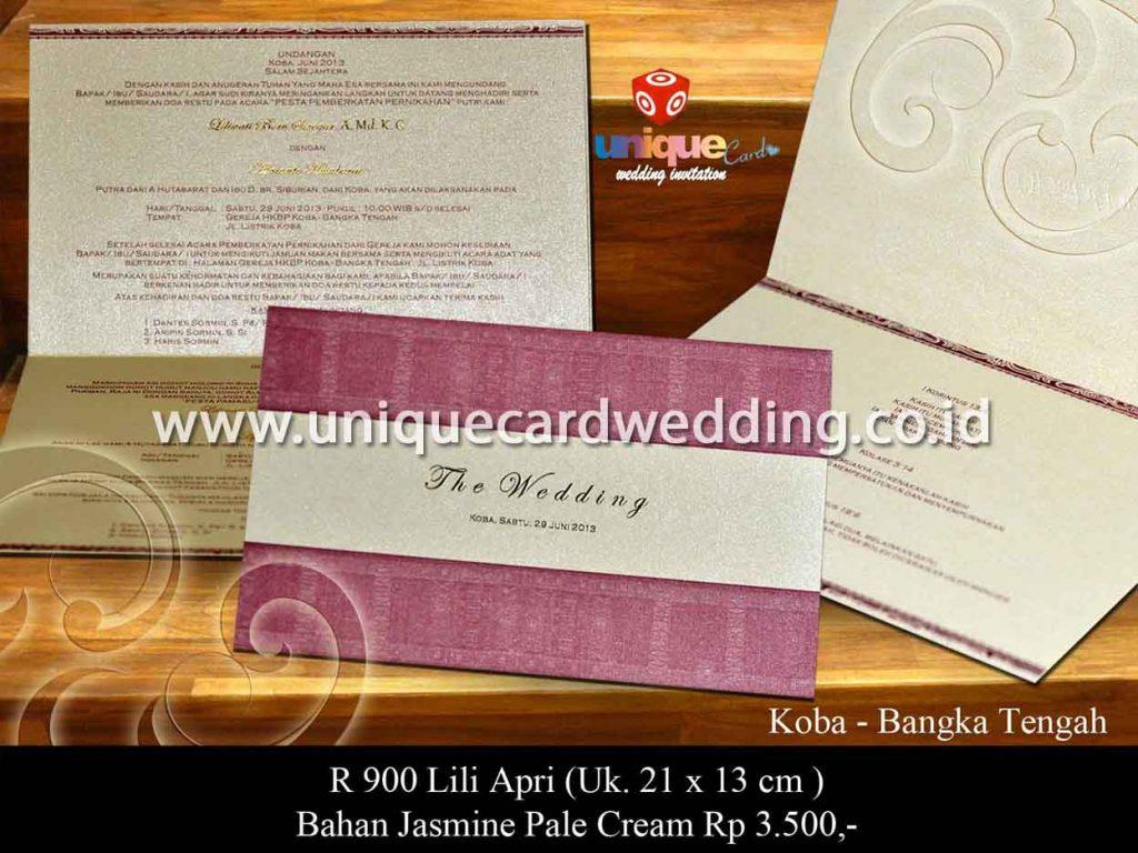 undangan pernikahan-Lili Apri