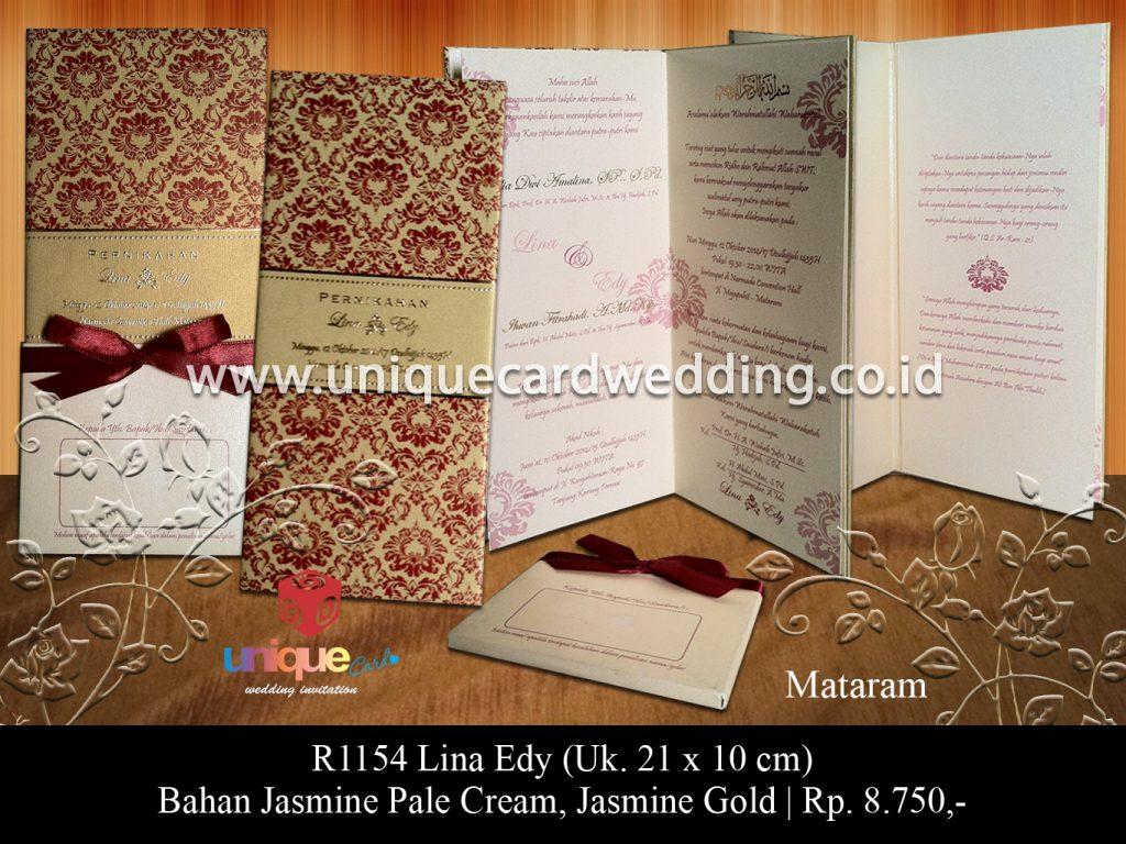 undangan pernikahan-Lina Edy