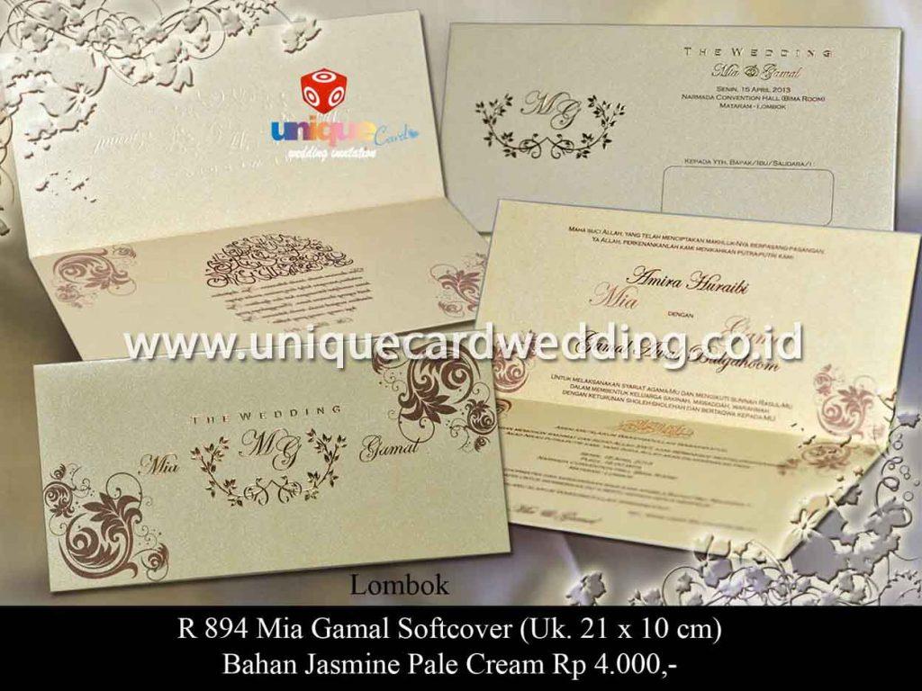 undangan pernikahan-Mia Gamal SC