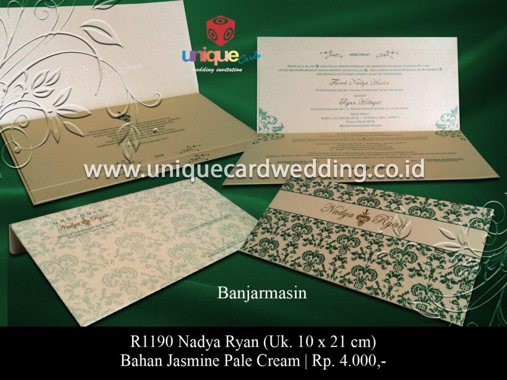 undangan pernikahan-Nadya Ryan