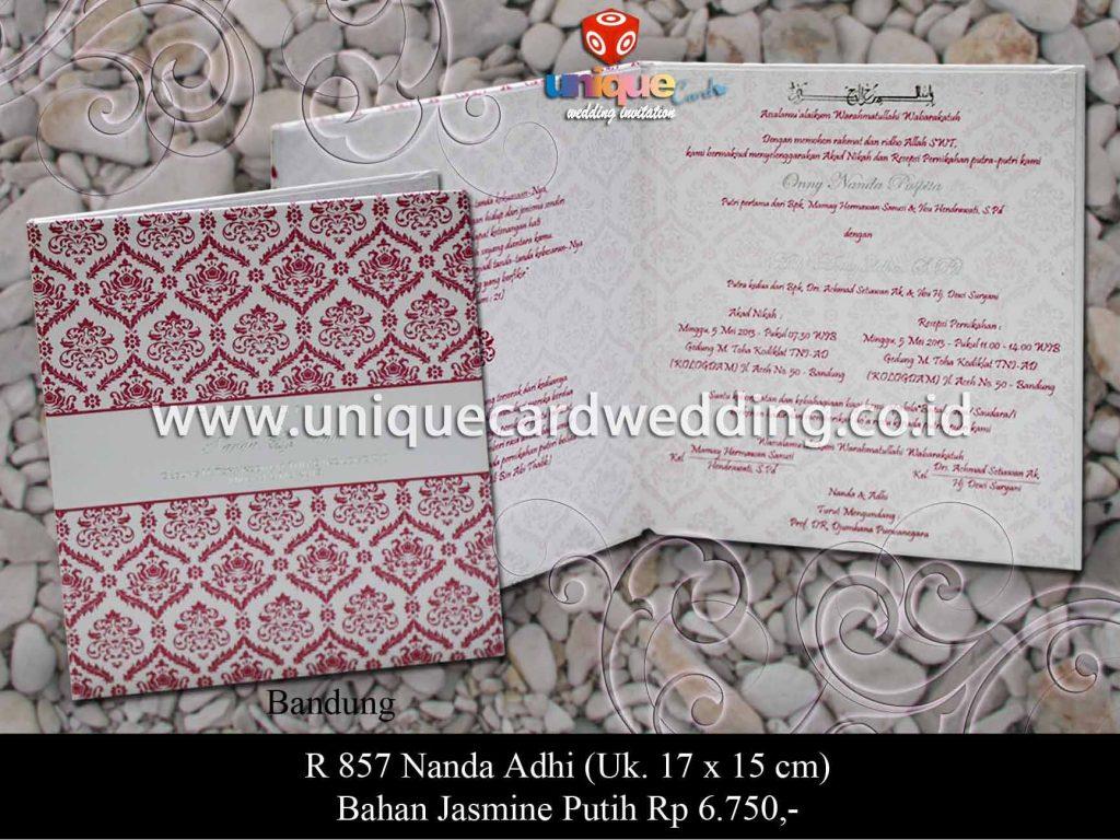 undangan pernikahan-Nanda Adhi