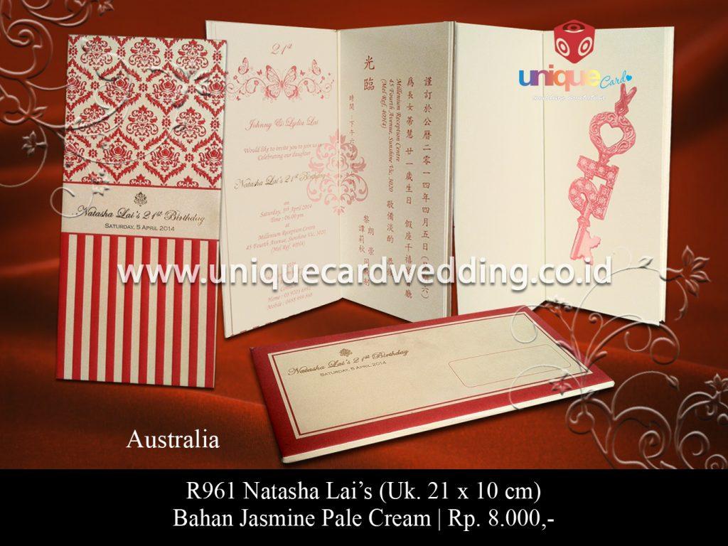 undangan pernikahan-Natasha Lai's